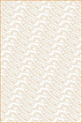 卷草龙纹雕刻图案
