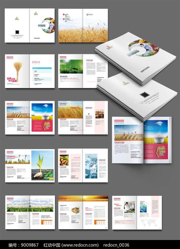 农产品画册设计图片
