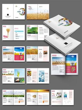 农产品画册设计 PSD
