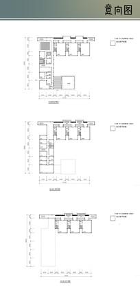 三层幼儿园室内平面图