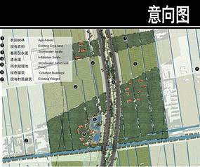 上海某通道节点一平面图