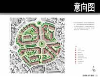 上海某英式居住区区域平面