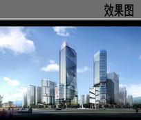 现代建筑设计效果图 JPG