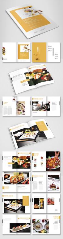 小清新美食画册
