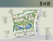 小型住宅区景观设计平面图