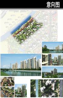 郑州某住宅区组团景观设计