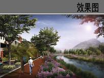 滨水生态景观设计效果图