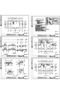 俄罗斯风格建筑给排水CAD CAD