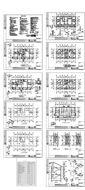 俄罗斯风格建筑结构CAD