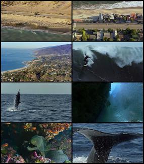 海边城市宣传视频
