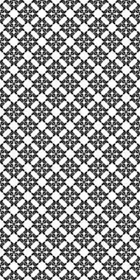 黑白潮流纹理图案