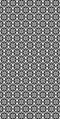 黑白风尚纹理图案cdr