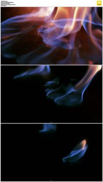 火焰燃烧实拍视频素材