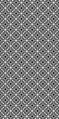 几何纹理雕刻图案