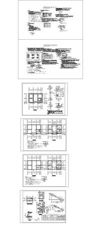 欧式新农村建筑结构CAD