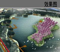 桃花岛设计效果图