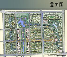正方形居住区规划