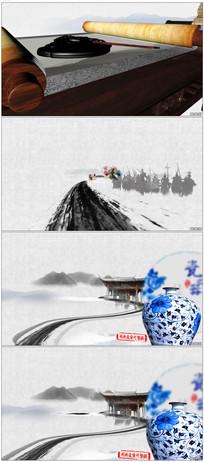 中国文化水墨开场片头模板