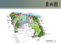 别墅地下室层平面图