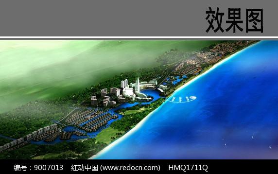 滨水带状景观概念设计图片