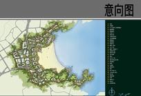 滨水景观规划总平面
