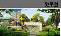 儿童游乐区景观效果图 JPG