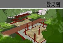 风情体验区节点小广场效果图 JPG