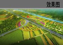 高速入口展示区鸟瞰图