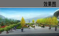 公园广场节点效果图 JPG