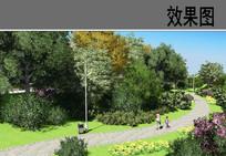 公园游步道效果图 JPG