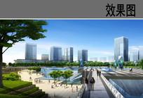 广场景观效果图 JPG