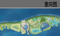 海岛景观设计平面图