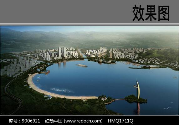 海湾景观设计效果图图片