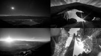 黑白唯美风景视频 mp4