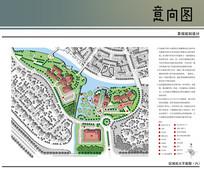 临水景观规划总平