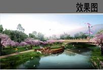 梅花园景观效果图