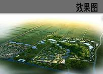 生态观光园景观规划鸟瞰图 JPG