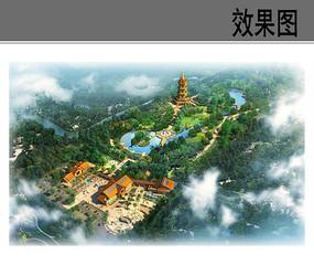 生态园整体鸟瞰图