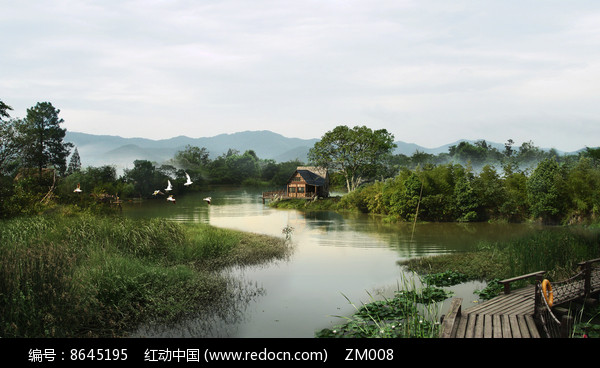 水景效果图图片