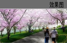 桃林景观效果图