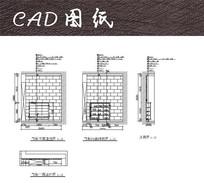 鞋柜CAD尺寸详图