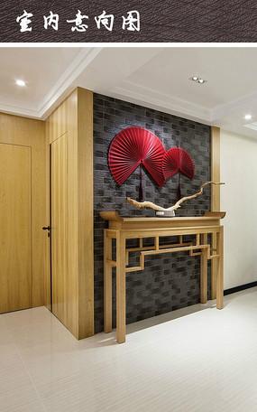 木质墙面植物拼接