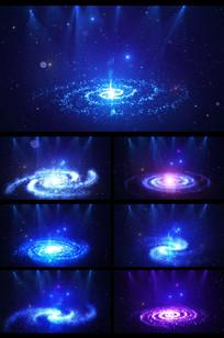 超唯美宇宙星云星空LED背景