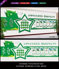 环保局环境保护文化墙布置图