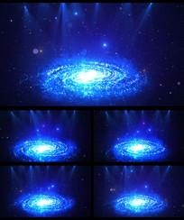 唯美宇宙星空灯光LED视频