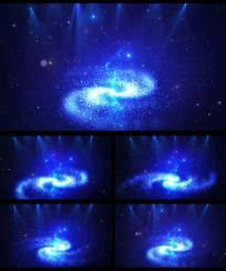 宇宙唯美星空灯光LED视频