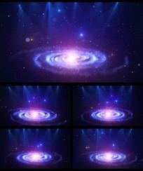 宇宙星云星空灯光LED视频