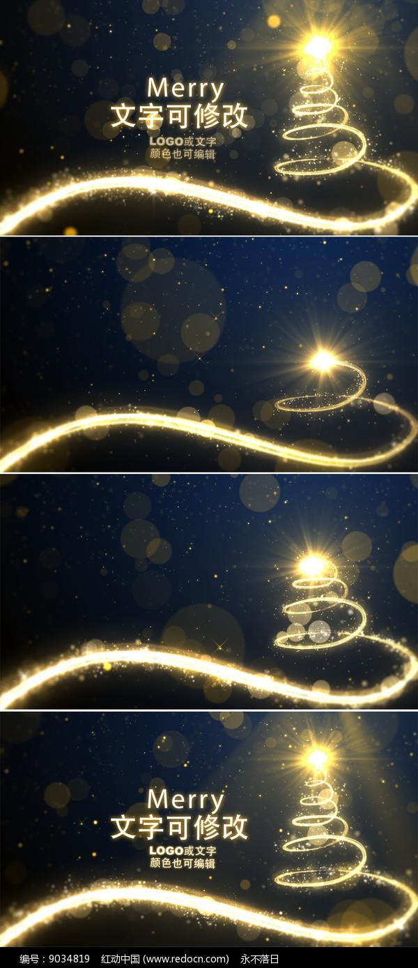 圣诞节新年背景视频 图片