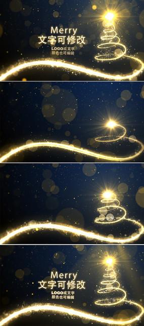圣诞节新年背景视频  mp4