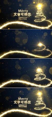 圣诞节新年背景视频